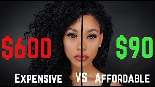 EXPENSIVE VS AFFORDABLE - SIMPLE EVERYDAY MAKEUP