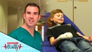 Science for Kids - Dealing With Smashed Finger | Emergency | Operation Ouch