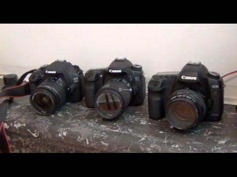 Canon EOS 1200D vs EOS 70D vs EOS 5D MarkIII comparison and test