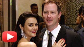 Preity Zinta - Gene Goodenough STUN At Wedding Reception