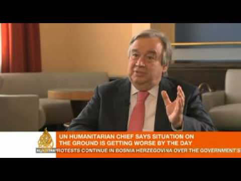 Exclusive: UN's Valerie Amos and Antonio Guterres speak to AJE