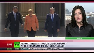 Broken Promise  (NSA) continues spying on Merkel aides  2/24/14