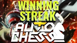 WINNING STREAK Strategy? - Dota 2 AUTO CHESS | Dadosch
