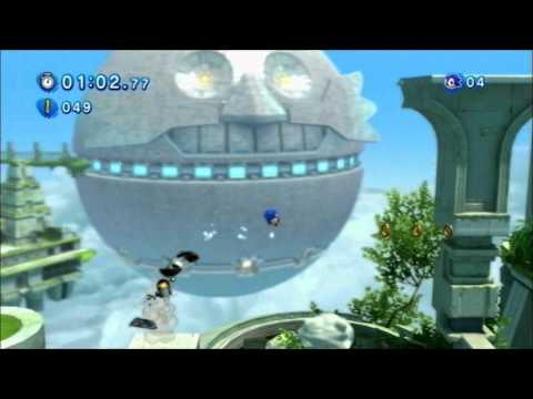 Sonic Generations (PS3): Sky Sanctuary - Classic - S-Rank