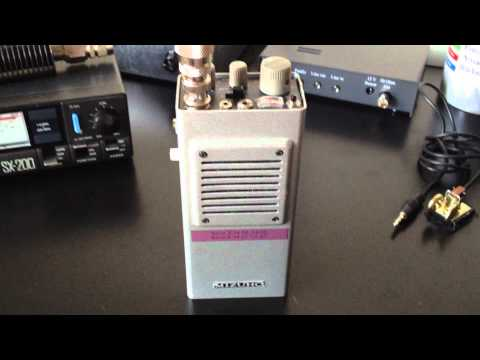 Mizuho MX-14S QRP Transceiver Rx HZ1SK 20m