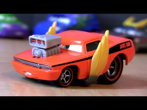 Cars 2 Snot Rod with Flames 2013 Tuners Diecast Collection Disney Pixar car-toys checklist