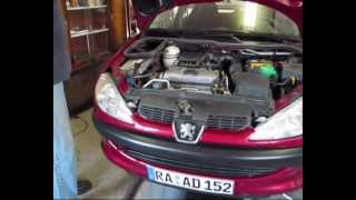 Peugeot 206 How to change the timing belt