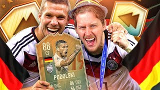 THE BEST FIFA CARD EVER! 88 FLASHBACK PODOLSKI PLAYER REVIEW! FIFA 19 Ultimate Team