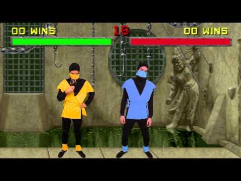 Mortal Kombat Fatalities Scorpion Subzero