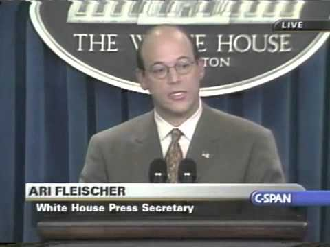 Ari Fleischer Responds To Questions About Bush & 9/11 - 5/17/2002