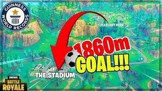 ★INSANE *LONGEST* GOAL From PLEASANT PARK to THE STADIUM  -   Fortnite Funny & WTF Moments Ep.54★