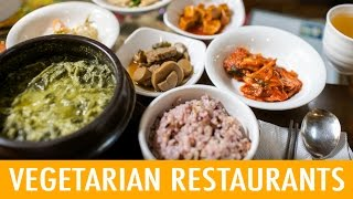 8 Places to Eat Vegetarian in Korea (KWOW #176)