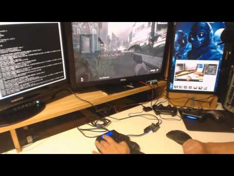 Mouse and Keyboard with PS4 (easy way)