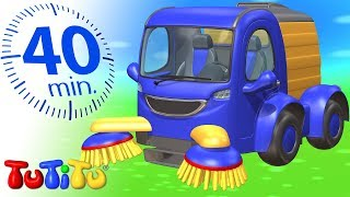 Street Sweeper car toy for kids | TuTiTu Compilation