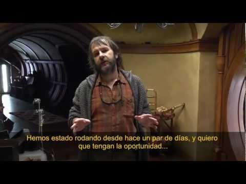 El Hobbit - Video de la Producción #1 HD (Subtítulos Español Latino)