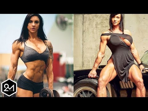 Top 10 Most Extreme and Strongest Female Bodybuilders 2017