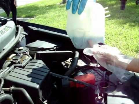 2007 Honda Civic Changing Coolant
