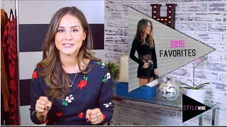 My Favorite Things From 2015! (STYLEWIRE)   Hollywire