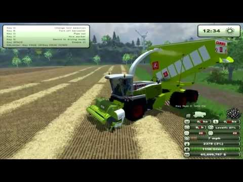 Farming Simulator 2013 Mod Review Claas Jaguar900 Cargo MF V1 0 (EN)