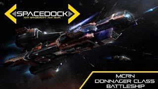 The Expanse: MCRN Donnager Class Battleship - Spacedock