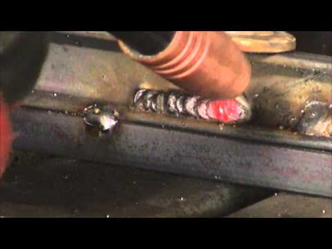 MIG WELDING WITH AND WITHOUT GAS - WHAT WELDS LOOK LIKE IF YOU RUN OUT OF GAS