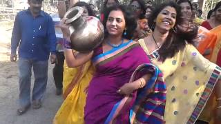 bengali young girl pre wedding dance part-3