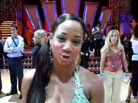 Monique Coleman High School Musical DANCING WITH THE STARS