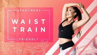 Real Life Waist Trainer Exercises | Apartment Friendly Workout
