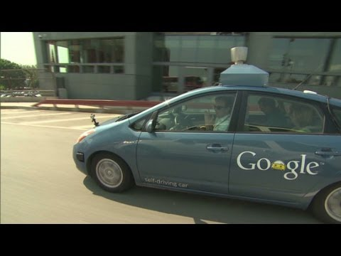 "CNN test-drives Googles ""self-driving car"""