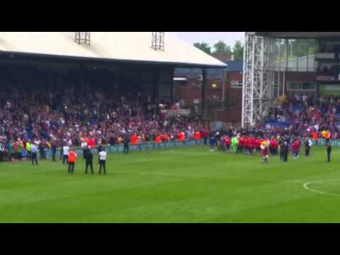 Alan Pardew post-match, end of season speech
