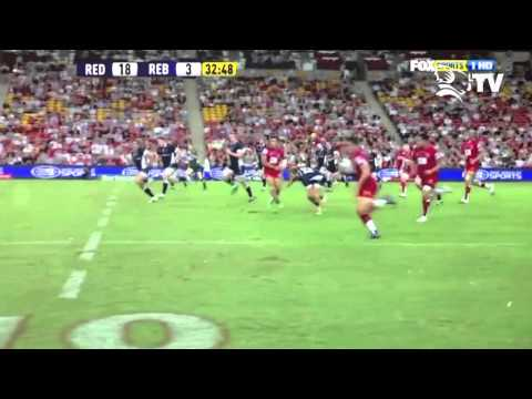 Queensland Reds Anthony Faingaa Highlights Package