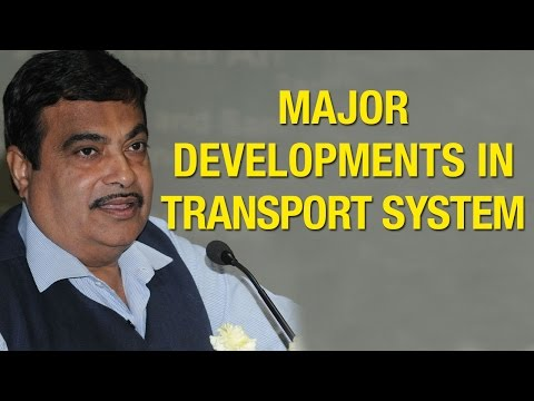 Nitin Gadkari launches Ebook on Major Developments in Transport System
