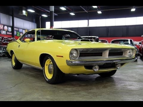 1970 plymouth 39 cuda test drive classic muscle car for sale in mi vanguard motor sales youtube. Black Bedroom Furniture Sets. Home Design Ideas