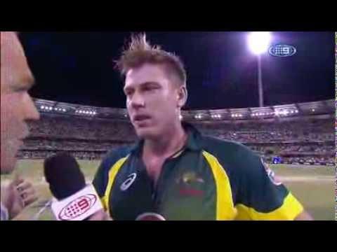 James Faulkner smashes Australia to victory   2nd ODI vs England   2014 One Day Series