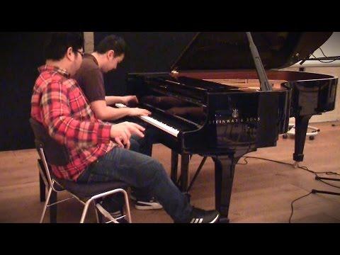 Haruhi Medley - piano duet [Animenz + TehIshter]