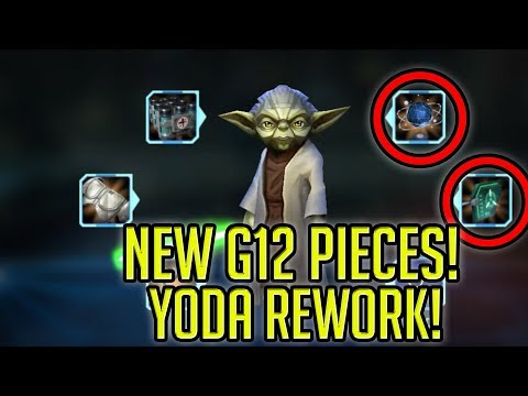 NEW G12 Pieces + Grand Master Yoda Rework Incoming! | Star Wars: Galaxy of Heroes