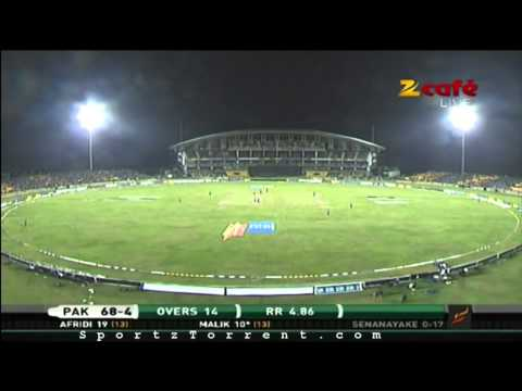 Cricket 2012 2nd T20i Pakistan V Srilanka Dk Pakistan Innings --- Hd Cricket   Sportztorrent video