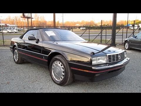1992 Cadillac Allante Start Up. Exhaust. and In Depth Tour