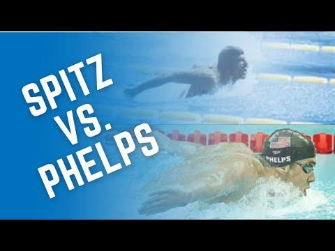 Butterfly Evolution - 1970s-21st Century (Mark Spitz vs. Michael Phelps)