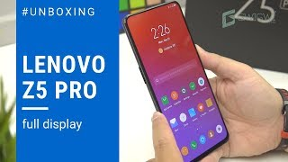 Lenovo Z5 Pro Indonesia Unboxing & Top Features