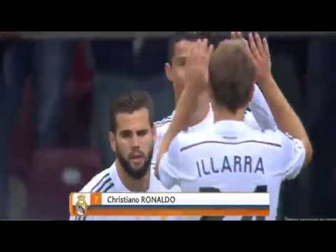 Cristiano Ronaldo Goal ~ Real Madrid 1-0 Fiorentina 16/08/14 Friendly