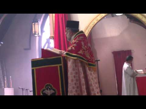 04-06-14 Homily by Very Rev. C. J. Johnson Cor Episcopos