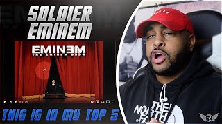 SOLIDER - EMINEM  | THIS WAS ONE OF THE CLASSICS | REACTION