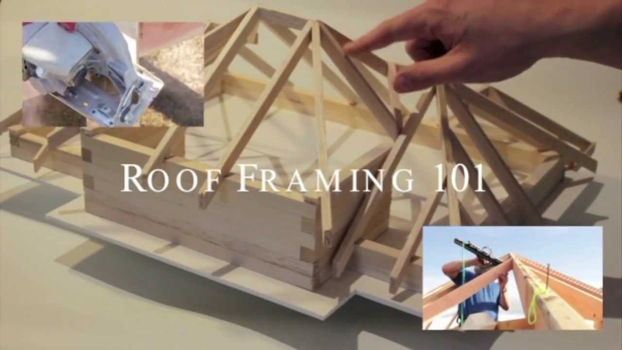 Roof Framing 101 Volume 2 0 Youtube