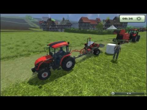 Farming Simulator 2013 Ursus Pack, Wrapping Bales