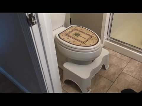 SQUATTY  POTTY TOILET STOOL😏 Product Review - Unicorn Gold - Poop Like Royalty🉐