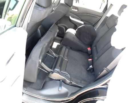 4th-gen Honda CR-V's easy-folding rear seat - YouTube