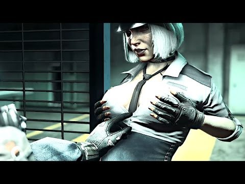 Dead Rising 3 - Hilde The Sexy Cop [chapter 3 Final Boss] video