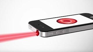 Самая маленькая лазерная указка для iPhone!