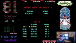 Galaga  - MAME - 6,800,910 (WR!)